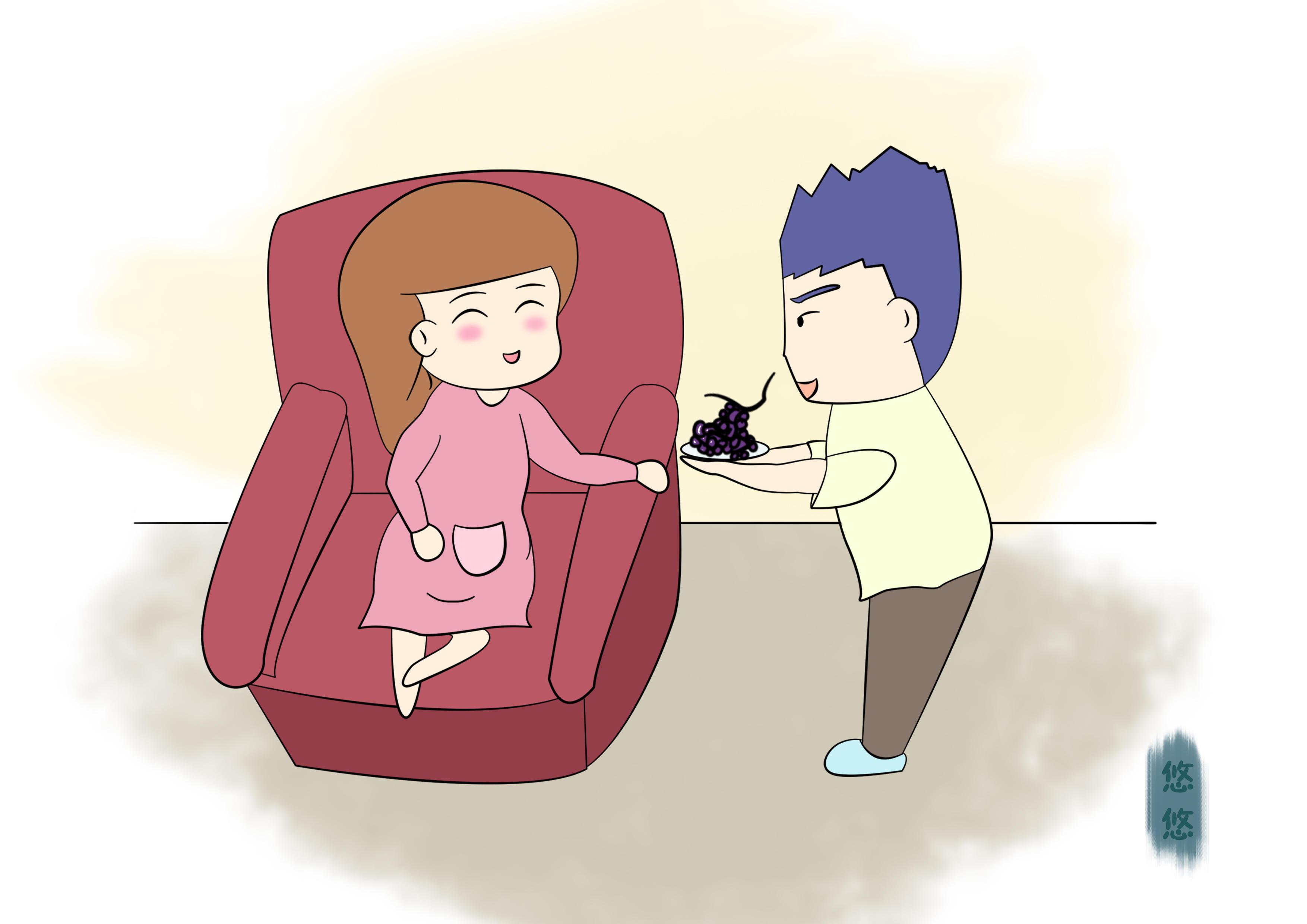 成功怀上宝宝,受精卵着床后,身体会有下6种感觉