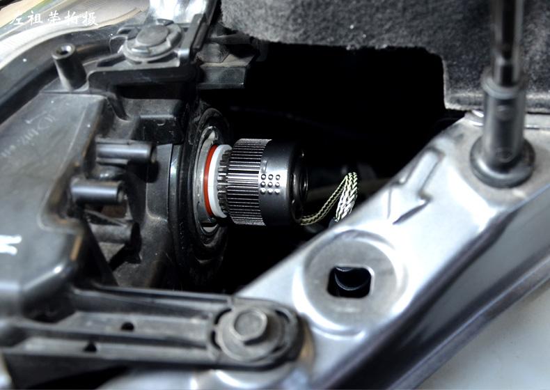 汽修师分享日产新奇骏换装汽车LED大灯安装步骤及光形效果(上篇)