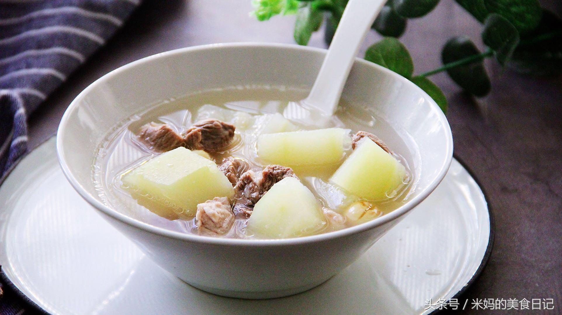 茨实木瓜莲子瘦肉汤做法步骤图 孩子补钙长得快老人延年益寿