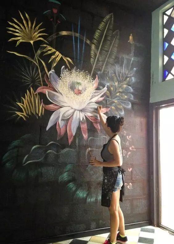 你家里画墙绘了吗?画墙绘必备攻略
