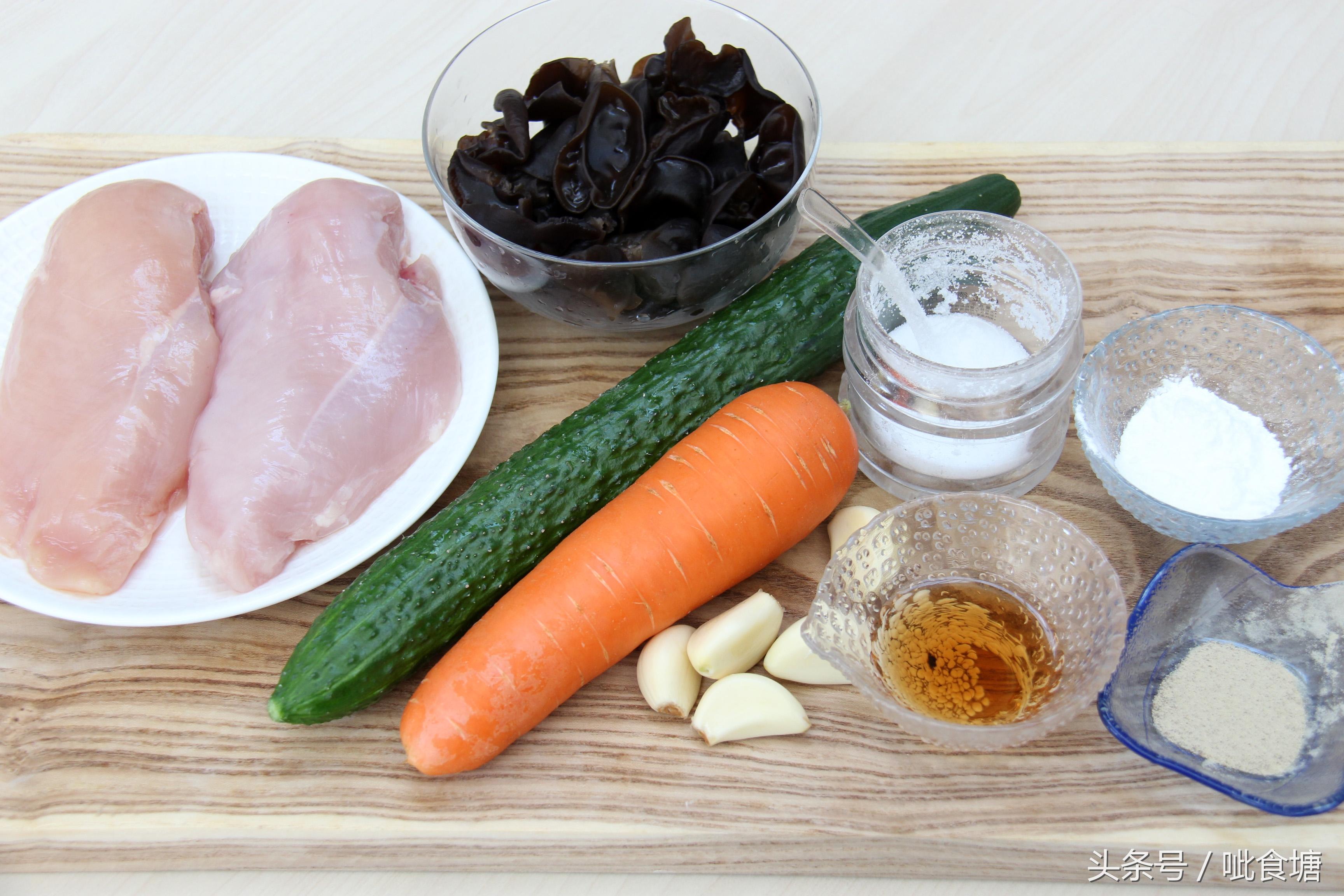 经典鲁菜滑溜鸡片 详细做法及鸡胸肉软嫩爽滑的技巧
