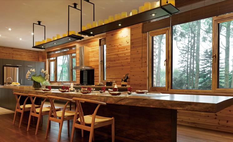 冠豪门窗丨铝包木门窗 vs 木包铝门窗,谁包的谁,有区别吗?