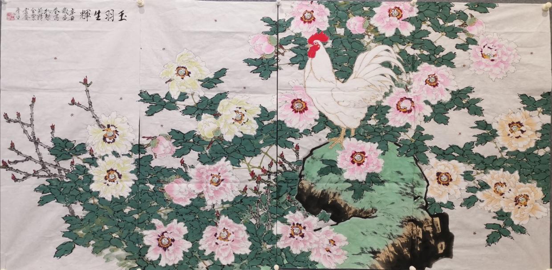 周彦生条屏画展在河南省漯河市举行