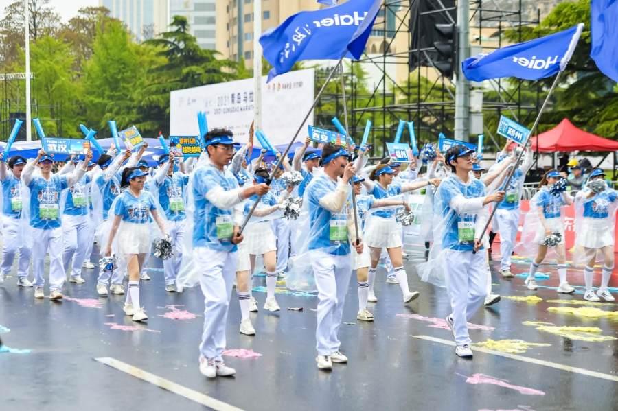 青岛马拉松:迎着五月的风