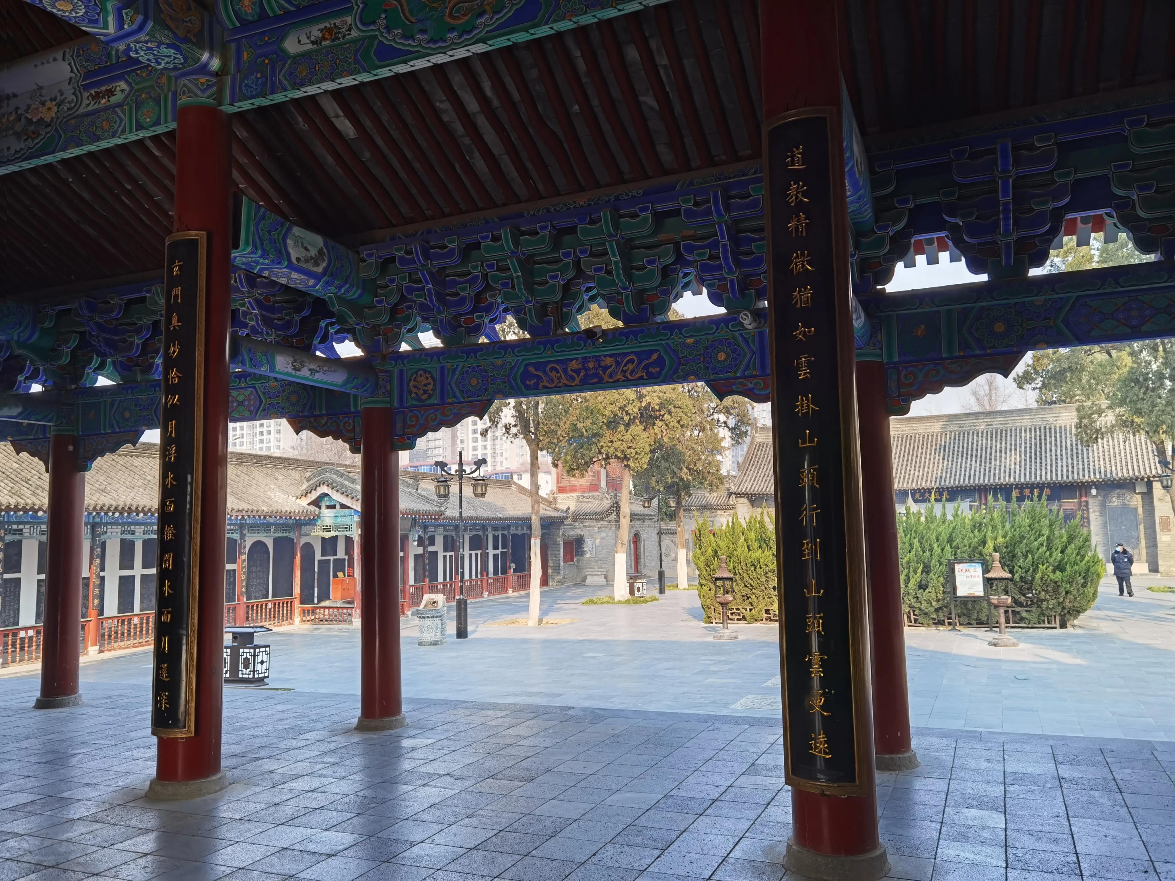 西安城区最大的道教活动场所——八仙宫