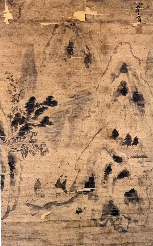 这位和尚的画,简到了极致,影响后世几百年