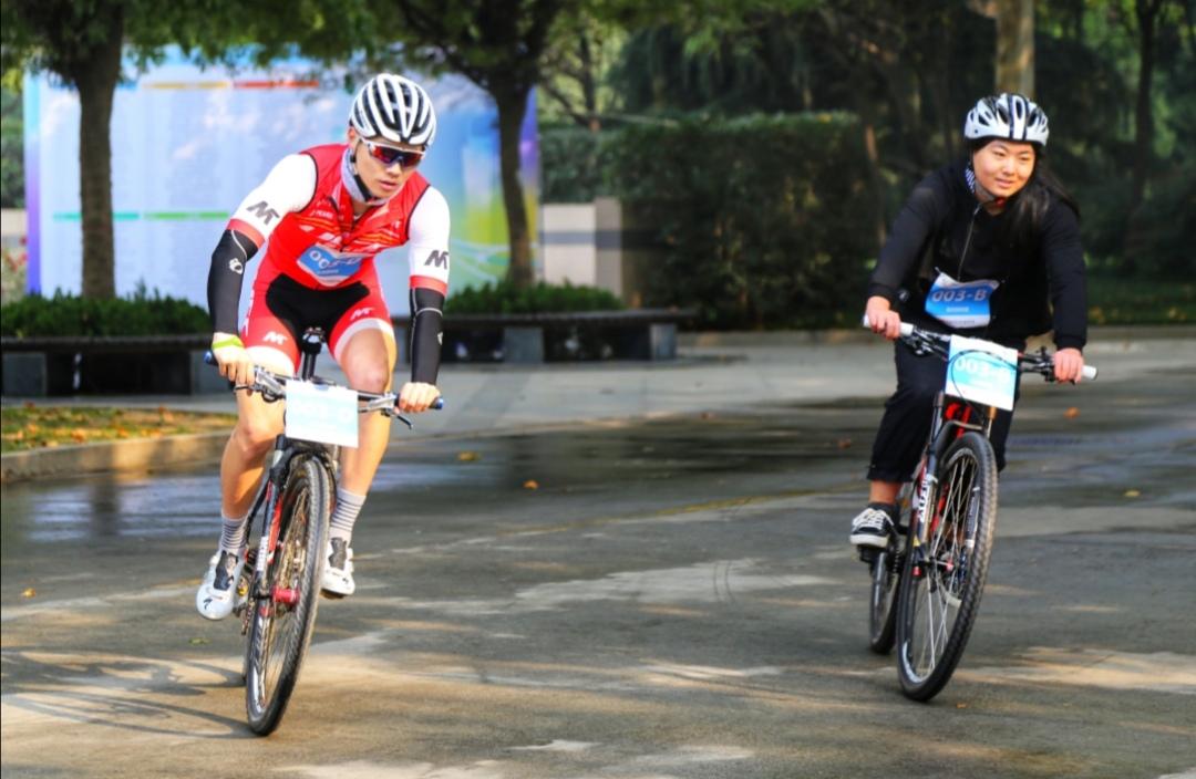 """""""我要上全运""""陕西省山地自行车定向锦标赛在西安举行"""