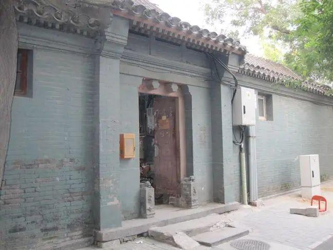 话说老北京四合院的院门