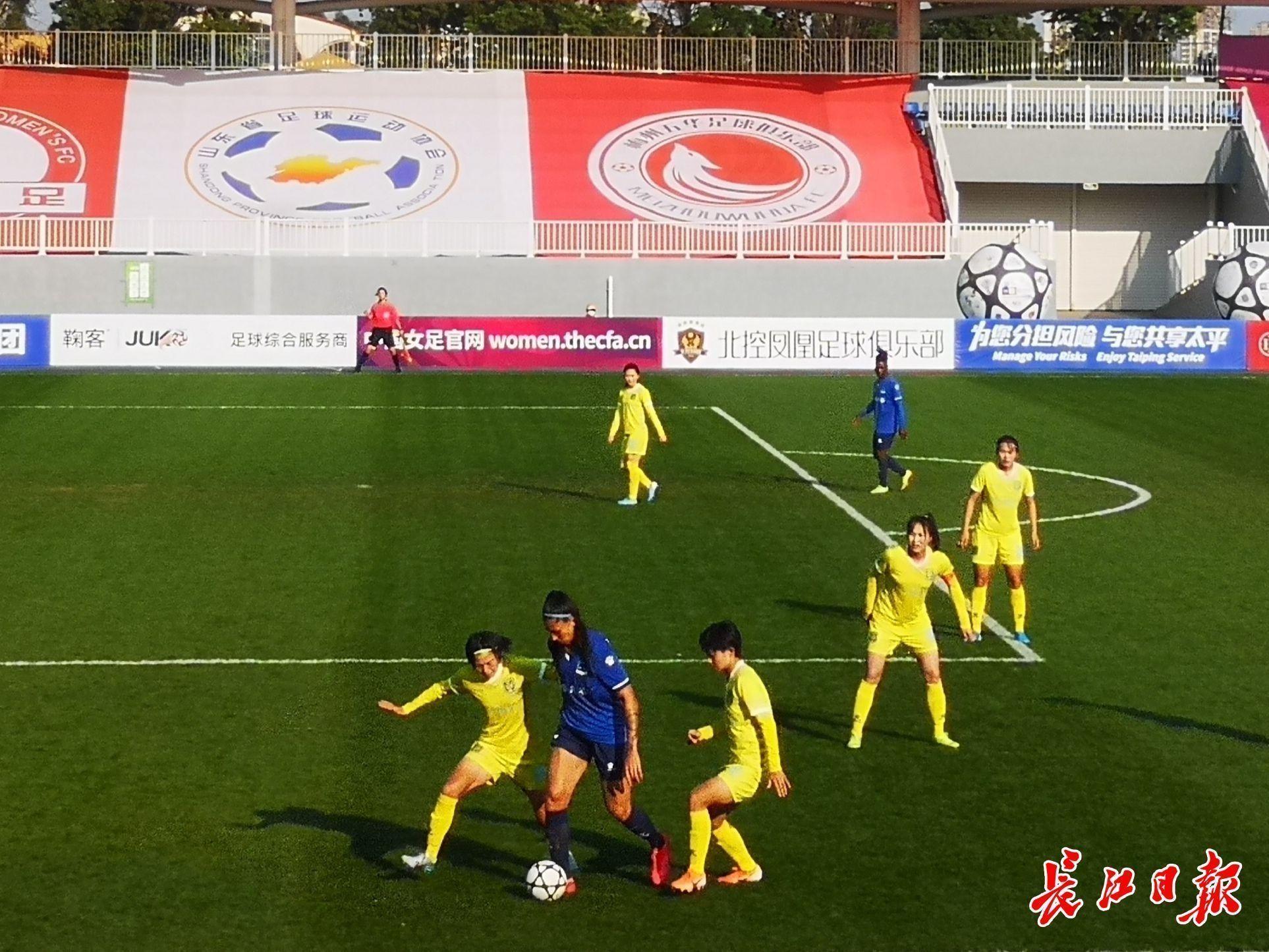 4:0,武汉女足首次登顶女超冠军