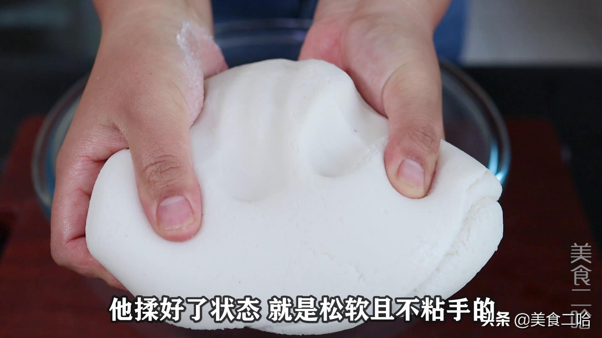 糯米白糖卷:既有糯米的嚼劲,又有白糖的清甜,好吃又过瘾 美食做法 第5张