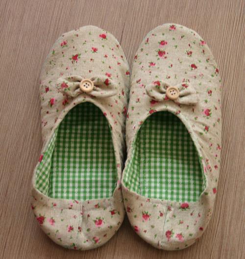 手工布鞋36鞋样图纸(棉拖鞋鞋面纸样尺寸表)