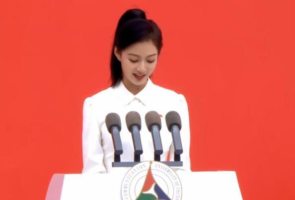 中国传媒大学校花冯琳,毕业实习无缘央视,选择签约上海卫视