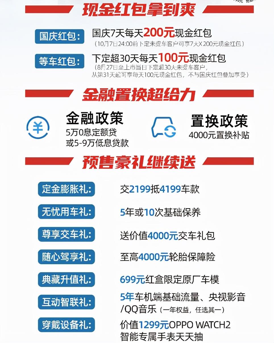搭载蓝鲸发动机 配置有惊喜 欧尚X7 PLUS将于10月17日上市