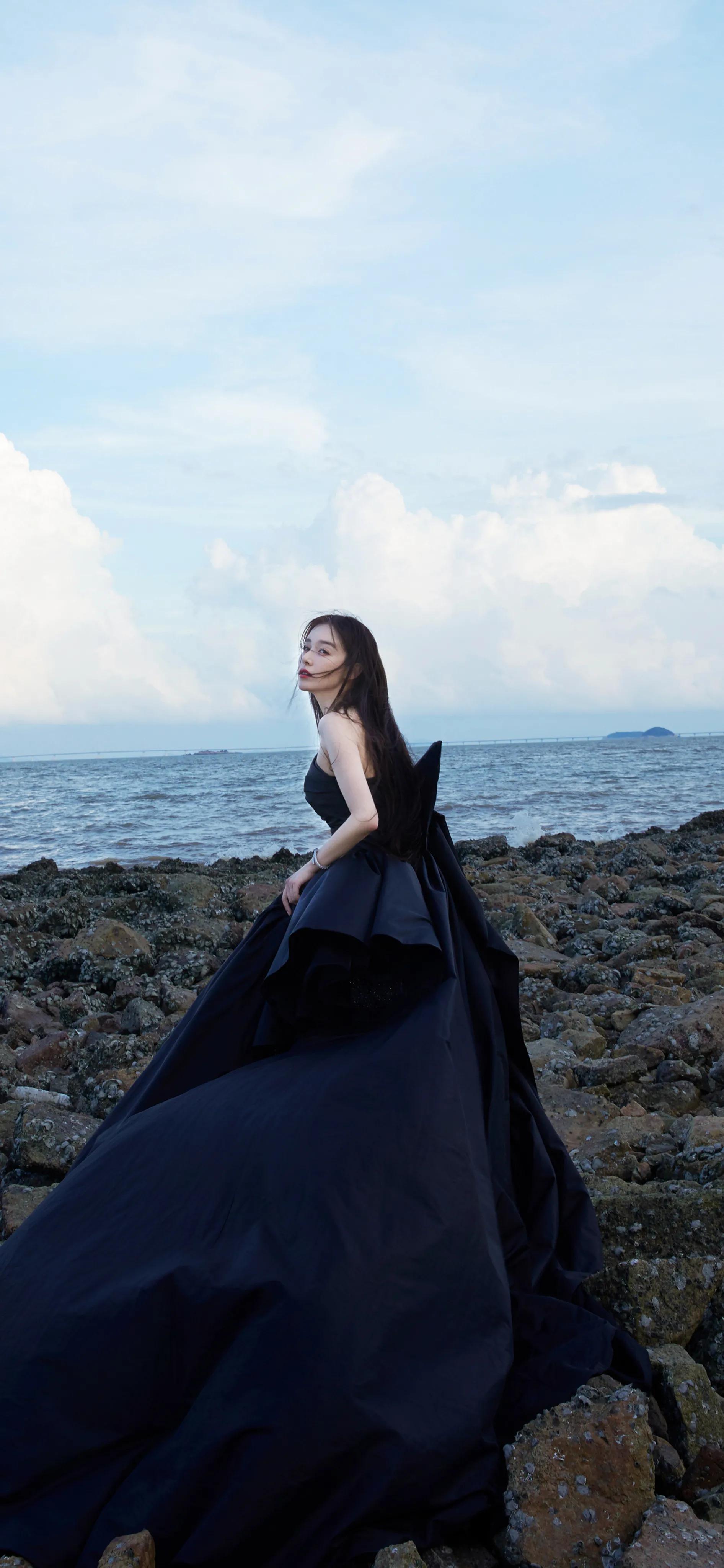 「阚清子壁纸」一色海天,一缕清风