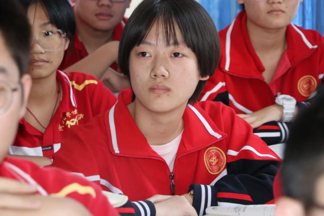 枣强中学高三一部举办班级对抗赛