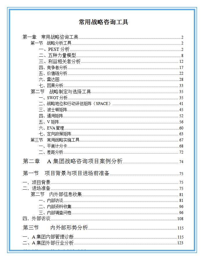 职场人士必备的300个管理工具合集( 营销+管理+战略+咨询+培训)