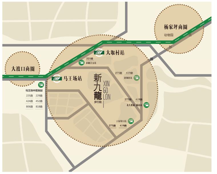 新九龙步行街丨家门口的便利,高手教你买铺