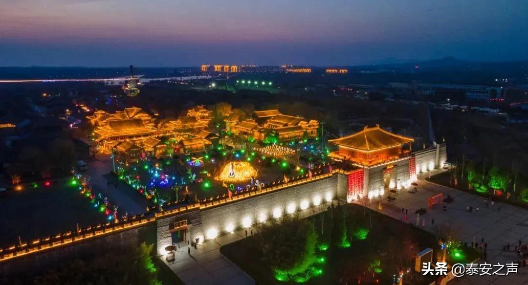 东平县水浒影视城景区再迎千人旅游大团
