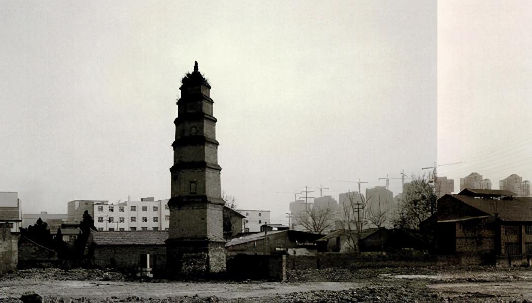 陕西现存最古老的寺庙——敦煌寺