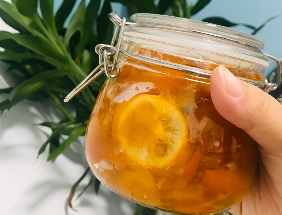 金桔柠檬膏的做法步骤图 冬天喝润肺还消食
