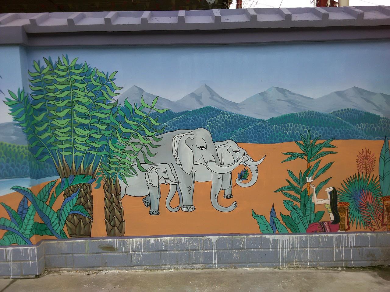 想要环保又好看的装修?墙体彩绘别错过了