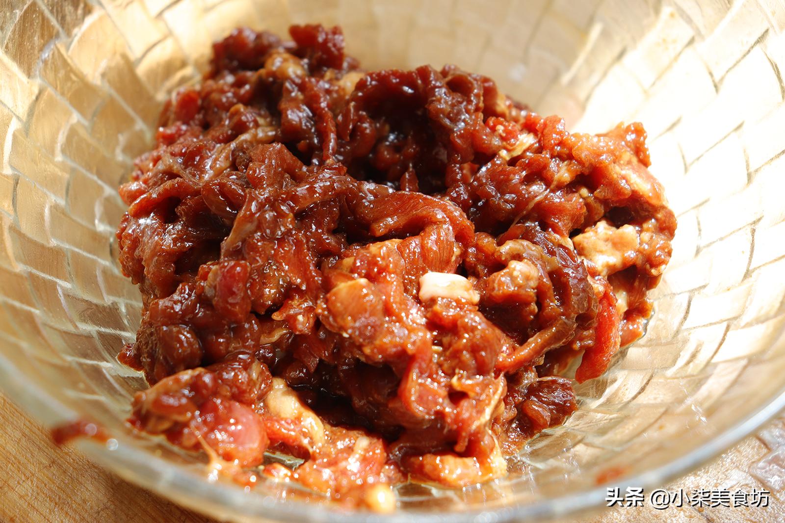 炒豆角时,切记不要直接下锅炒,多加2步,鲜嫩入味,营养又下饭 美食做法 第7张