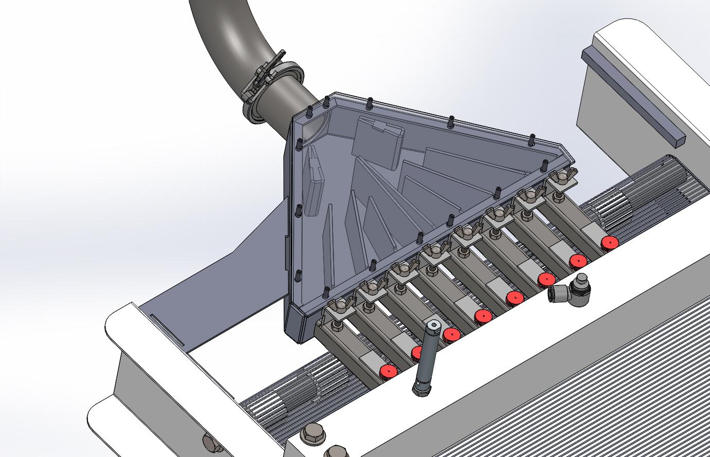 工业食品加工设备挤压机3D图纸 Solidworks设计 附STEP IGS