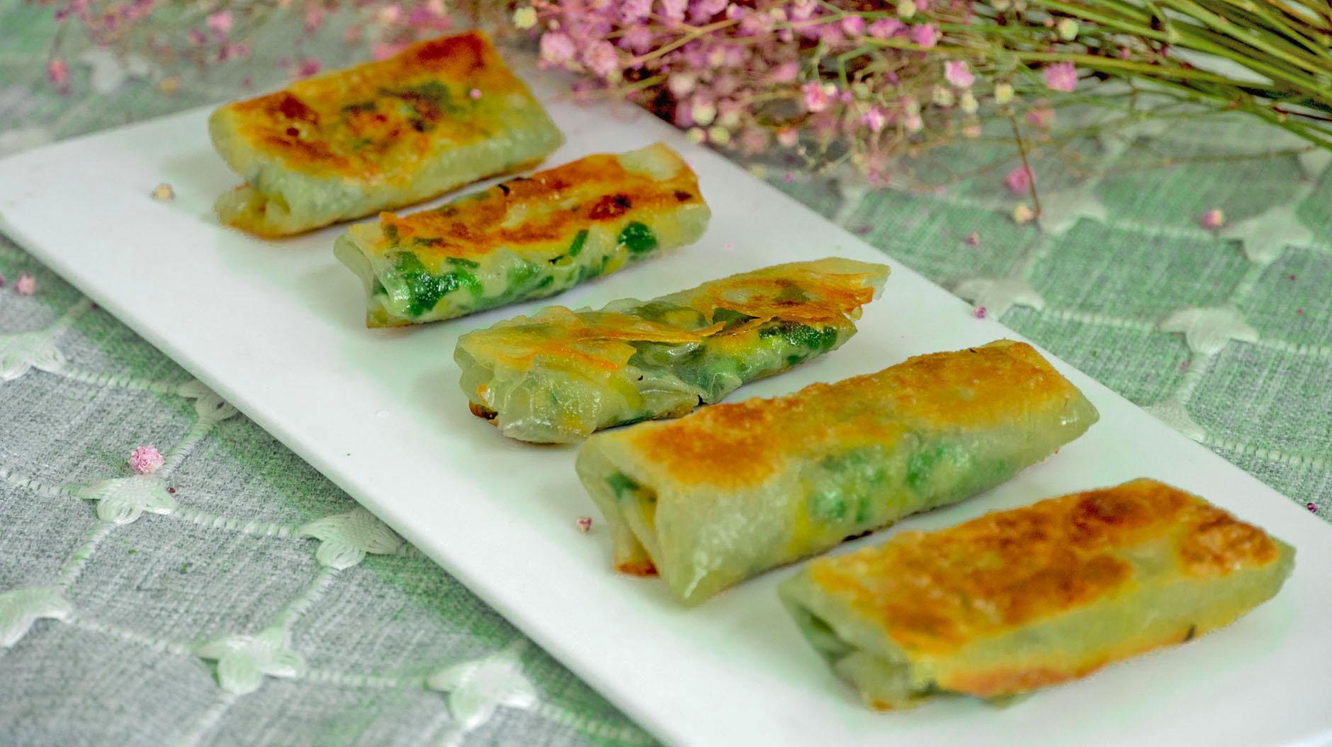 早餐别吃包子馒头了,1块钱饺子皮,教你5种吃法,做法简单又解馋 美食做法 第24张