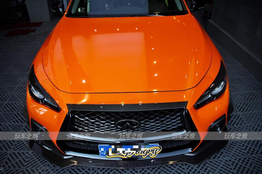 新的提升 英菲尼迪Q50个性改装升级