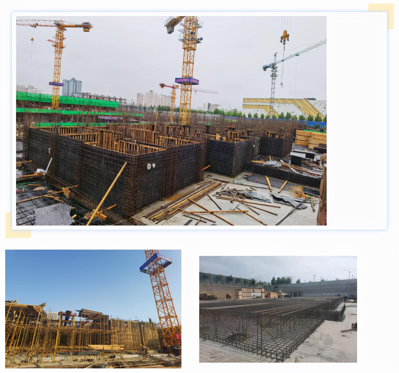 西建集团天茂房产运城开发项目「工程进度」