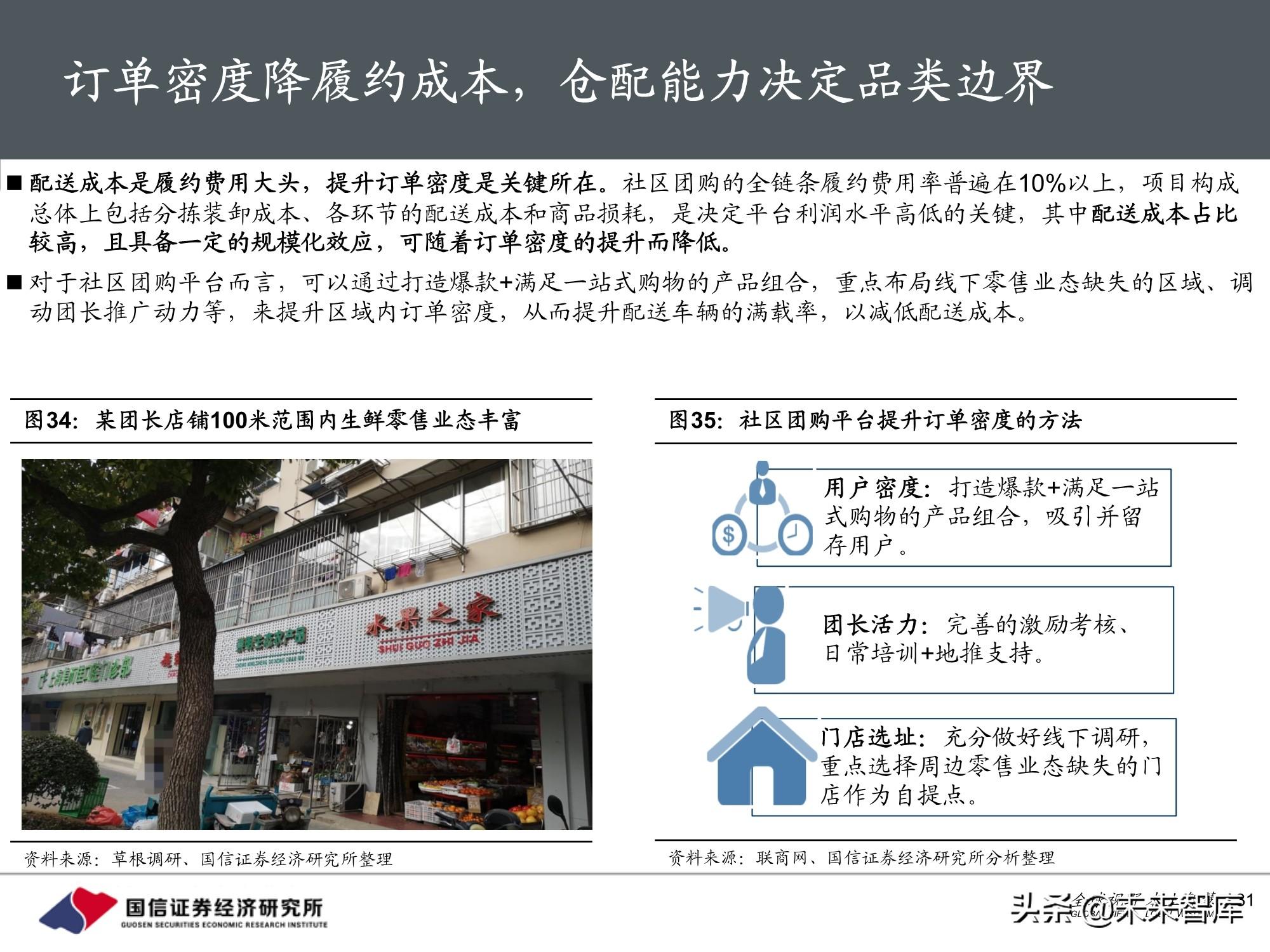 社区团购专题报告:围绕消费者运营,紧抓供应链胜负手