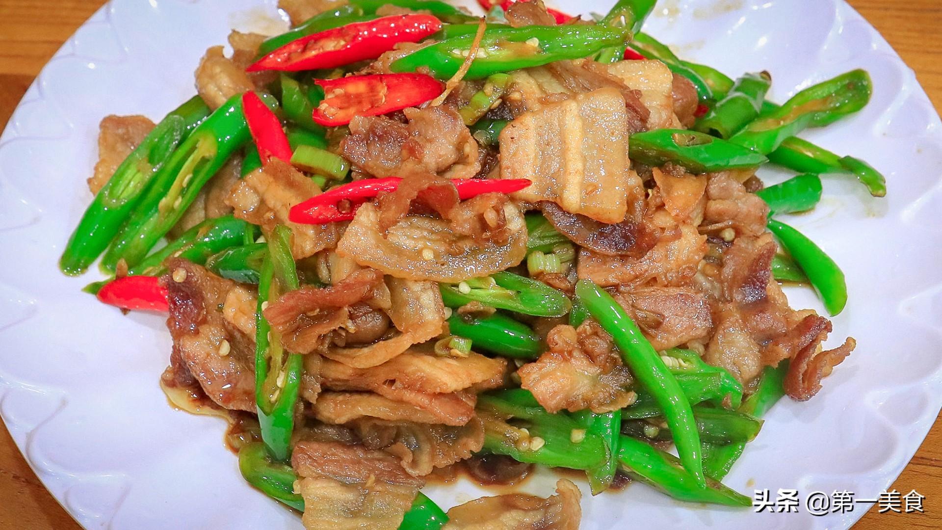 【小炒肉】做法步骤图 肉片焦香不油腻 香辣下饭