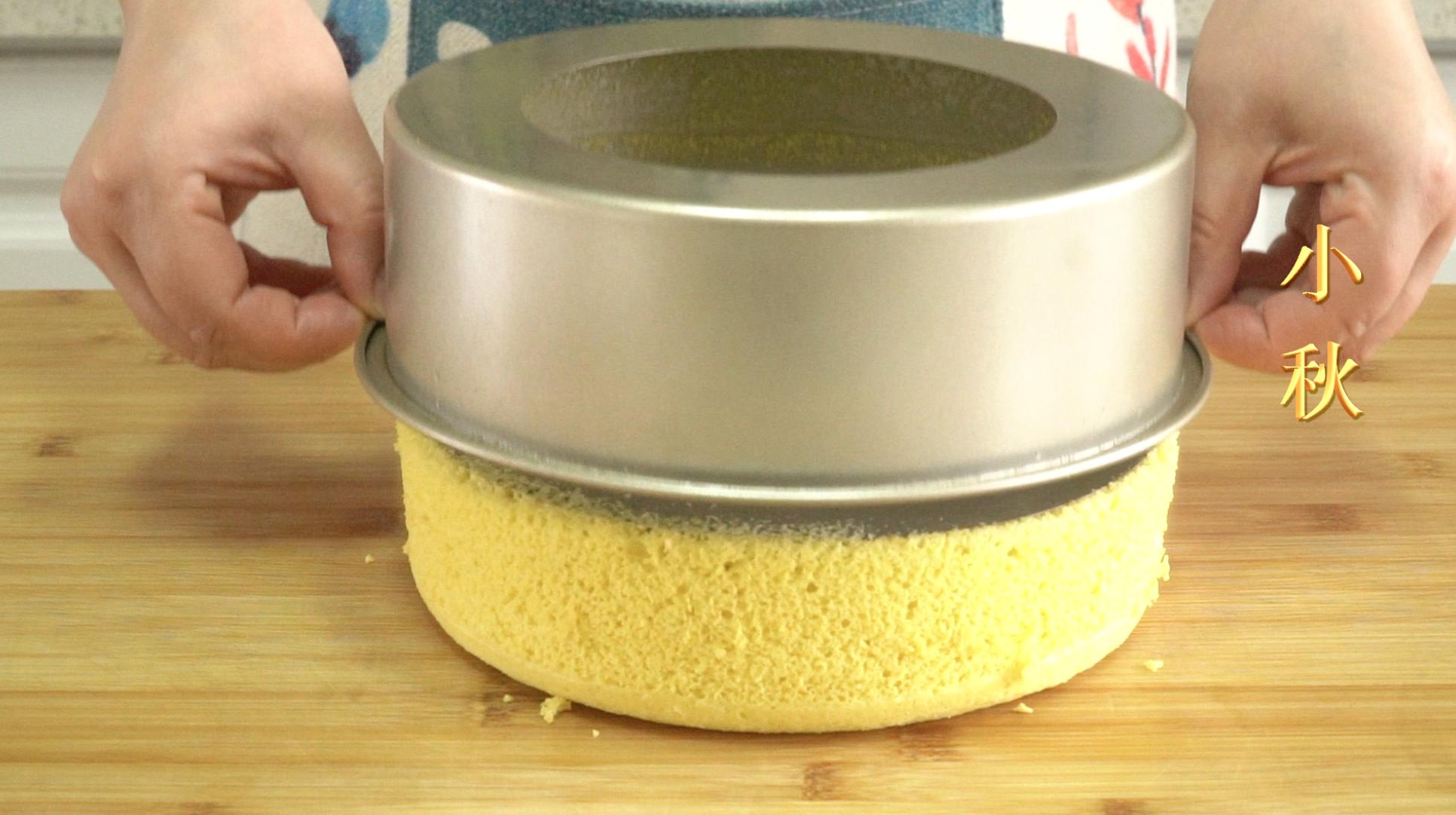 双色玉米面蒸蛋糕,好吃不上火,用对方法,暄软漂亮中间不发粘