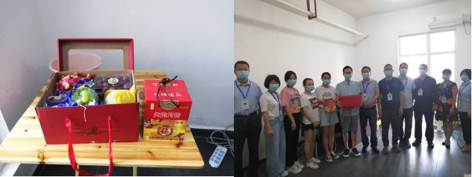 江安县人民医疗健康集团医院中秋慰问疫情防控值守人员