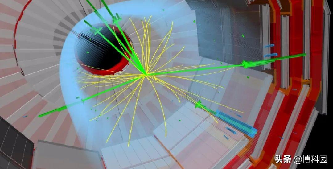 """欧洲核子研究中心,首次发现:比""""上帝粒子""""还罕见50倍的事件"""