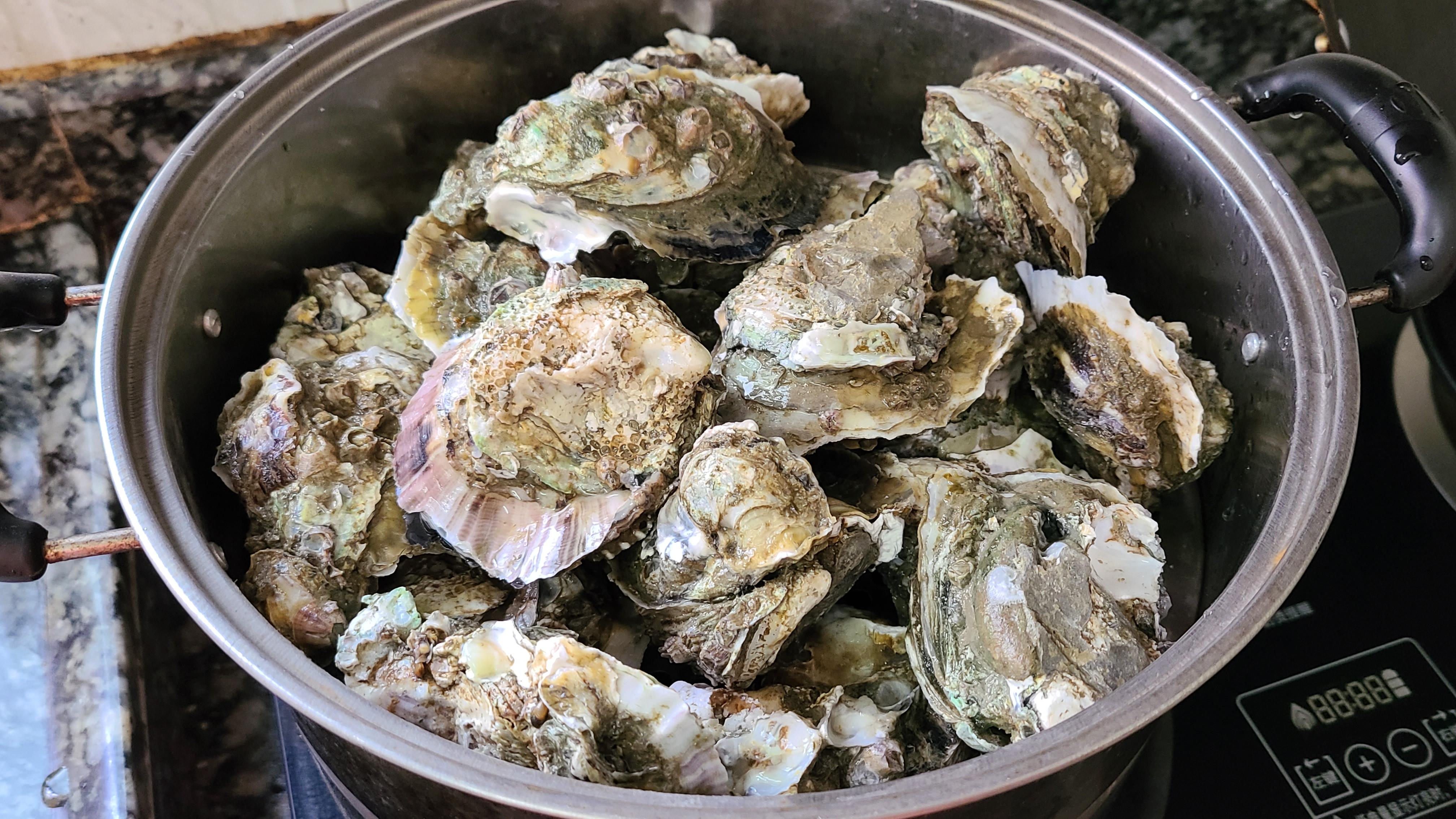 广式炒生蚝原来这么好吃,家常做法味道鲜美,看着就馋了 美食做法 第4张