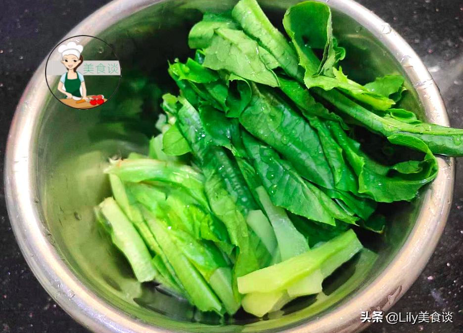 """这菜很多人只吃茎,叶子被当""""垃圾""""扔掉,现在正当季,别不懂吃 美食做法 第4张"""