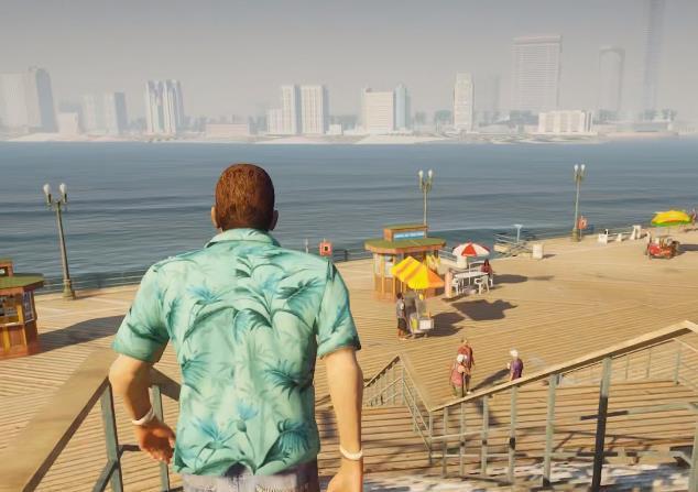 仅有150G大小的《GTA:罪恶都市》实机画质如何?重温经典