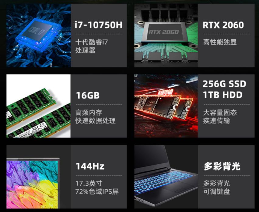 文武双全,双11首选GeForce RTX显卡神舟战神笔记本