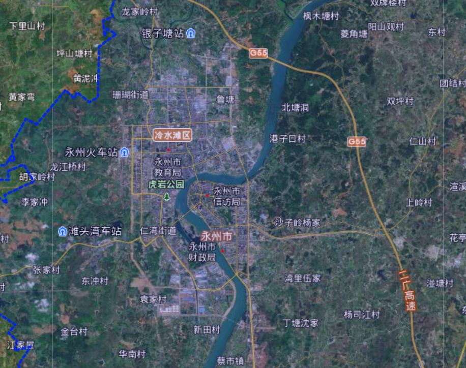关注湖南省永州市:大名鼎鼎荆州七郡之一,行政中心却不在零陵区