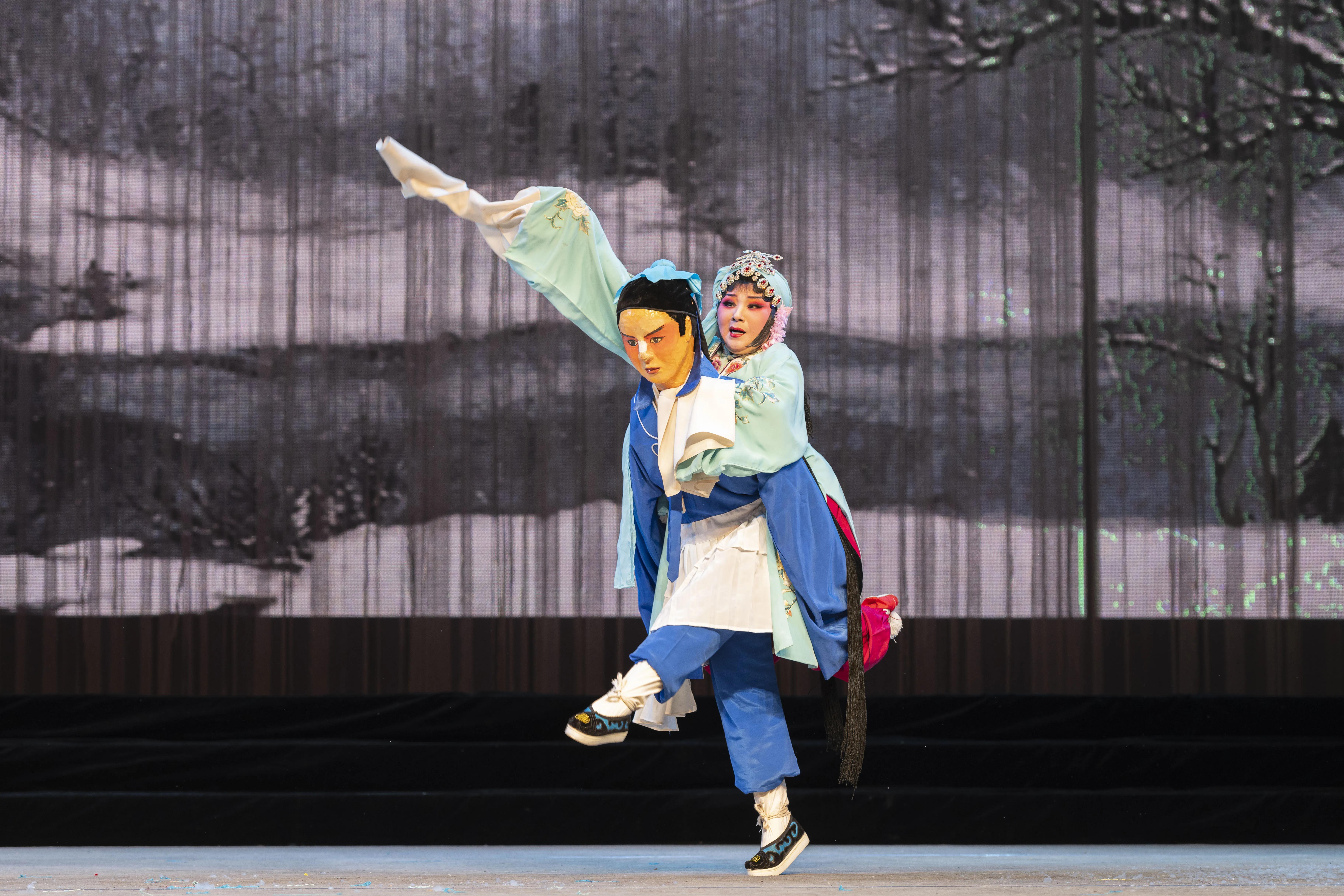 百年三意社新春演出秦腔经典剧目《哑女告状》