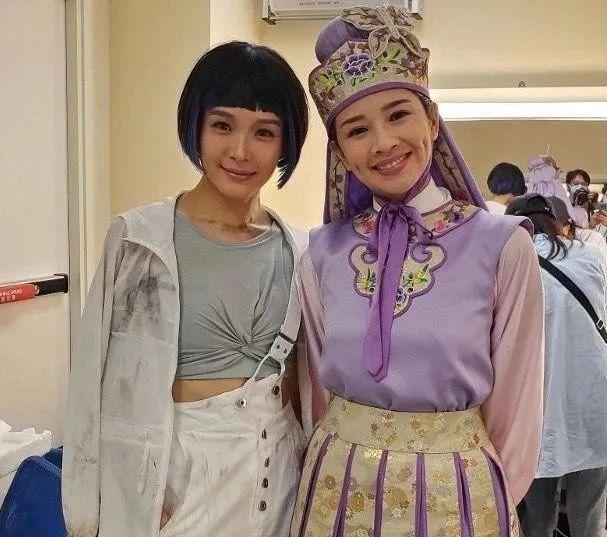 TVB新剧开拍,李佳芯为角色很拼命,男主自嘲是配角