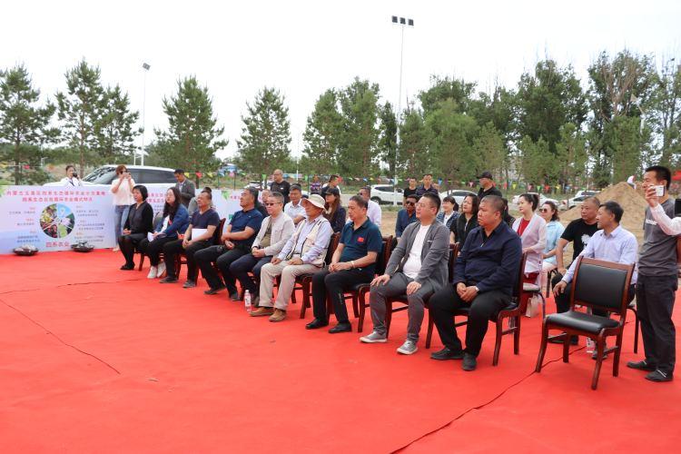 玉泉區舉行四系生態循環農業示范基地開工儀式