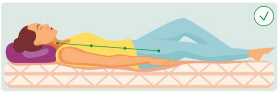 腰肌劳损患者的最佳睡姿图应该是什么样的?