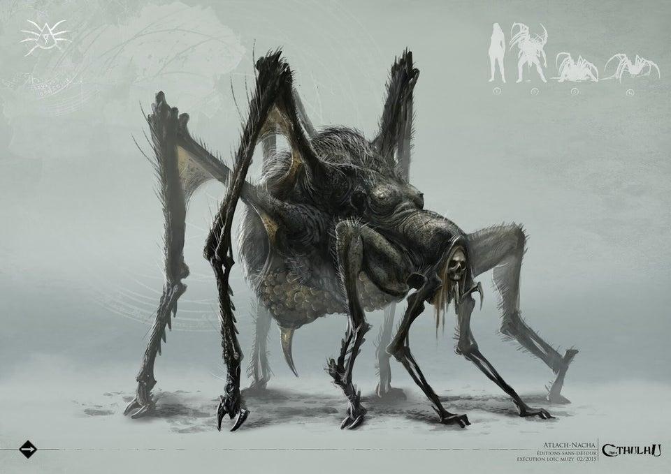 克苏鲁神话生物——冷蛛