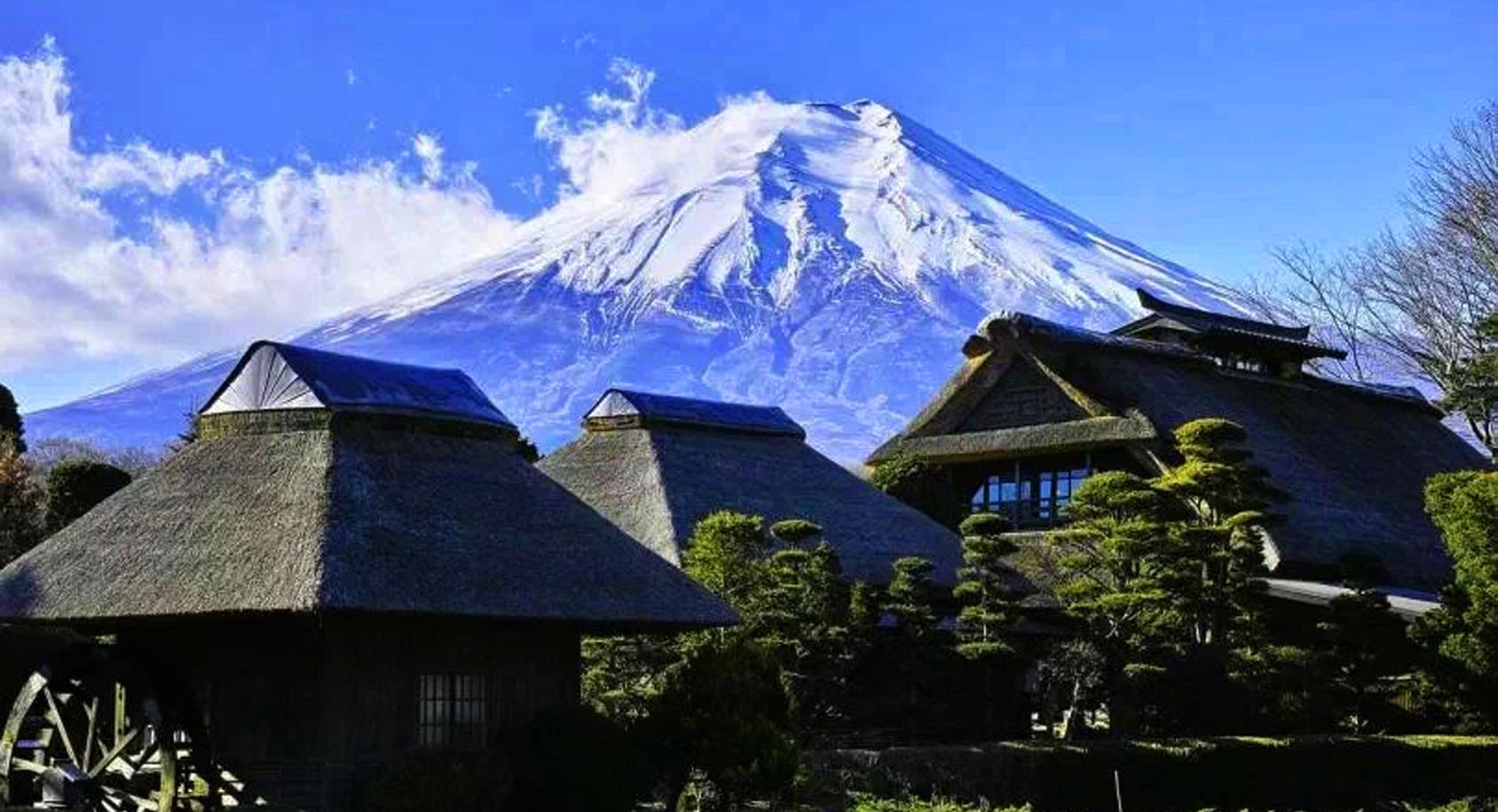 富士山是活火山还是死火山(日本为什么不怕富士山喷发)