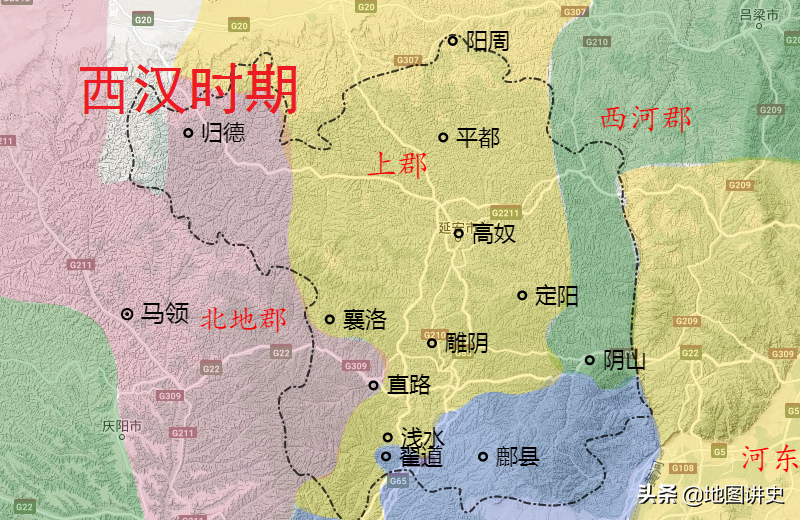 延安市行政区划史,唐朝境内四州,延州延续至今