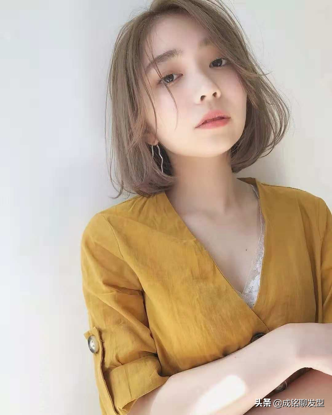 适合圆脸型女生的12款发型,简约洋气减龄还瘦脸,秒变优雅时髦精