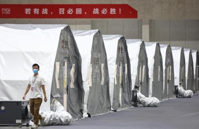 7套博德维快装气膜核酸实验室驰援南京