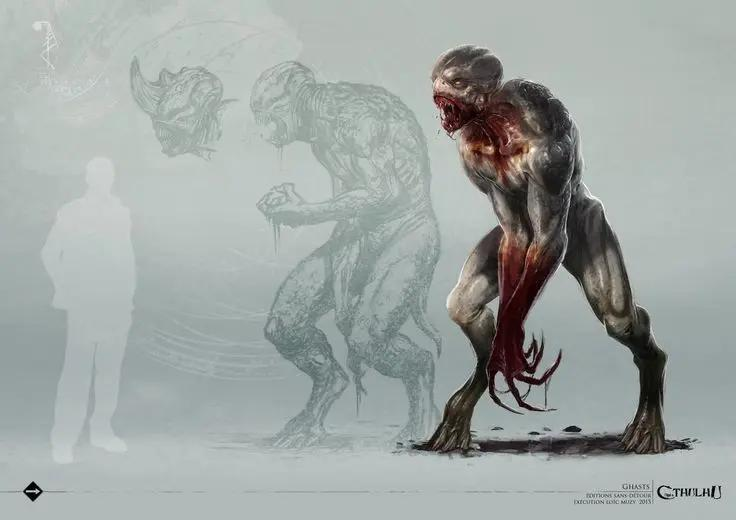 克苏鲁神话生物——妖鬼